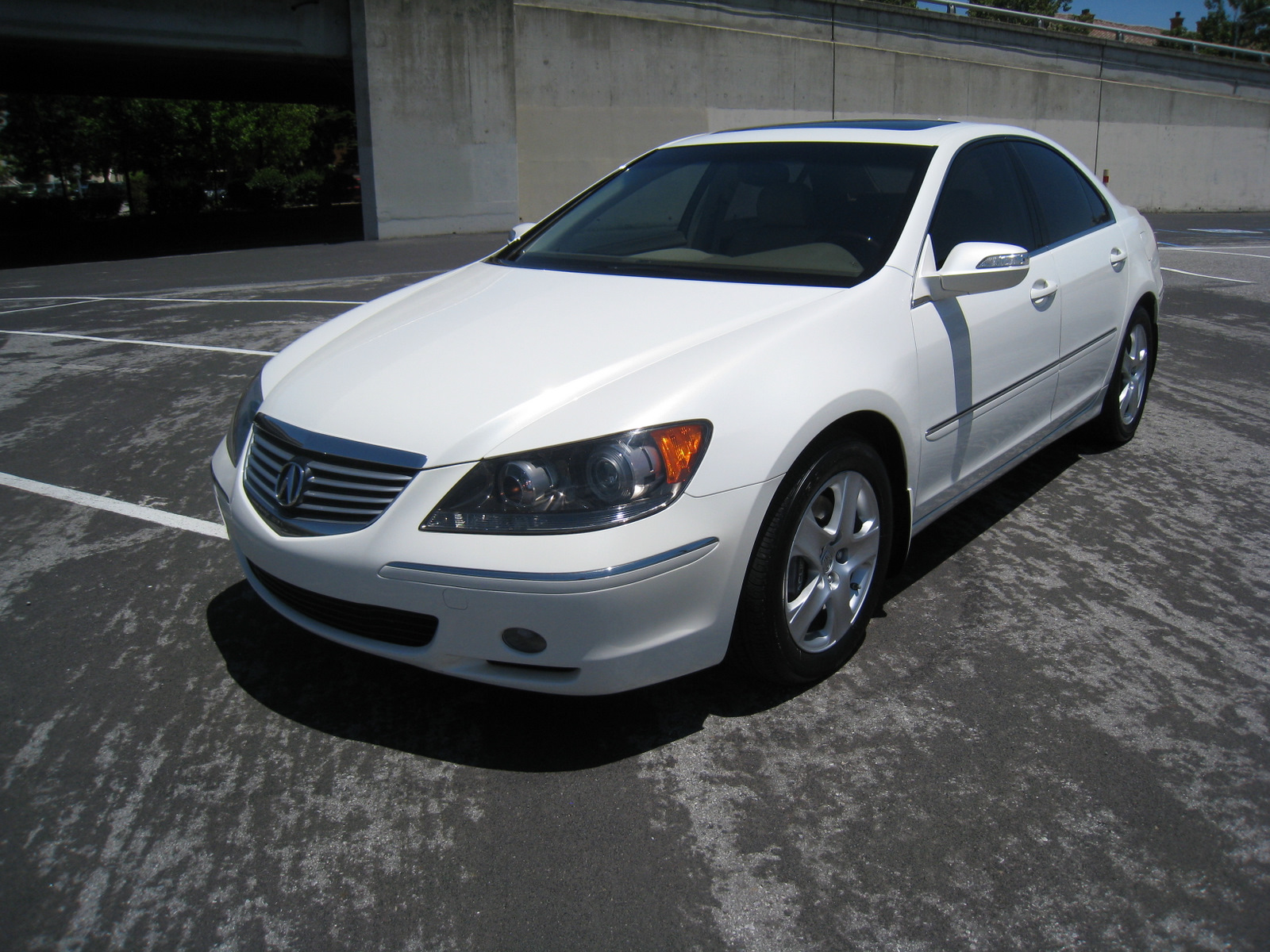 SOLD 2005 White/Beige Acura RL @ Location: San Jose, CA @ - AcuraZine - Acura Enthusiast Community