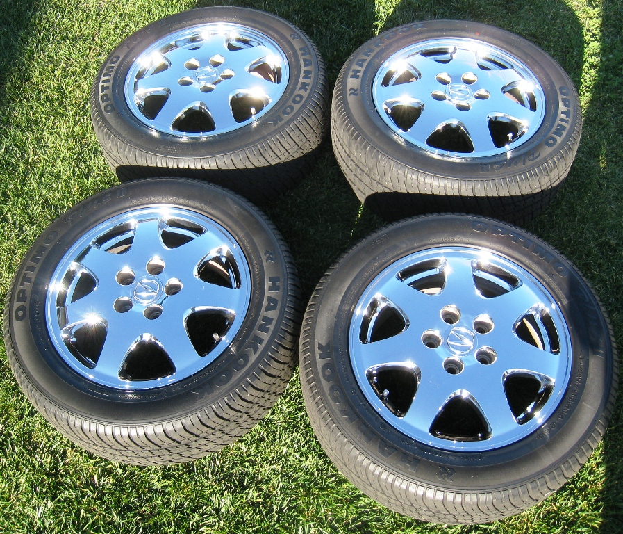 FS: 2002 Acura RL Chromed OEM Wheels/tires Set