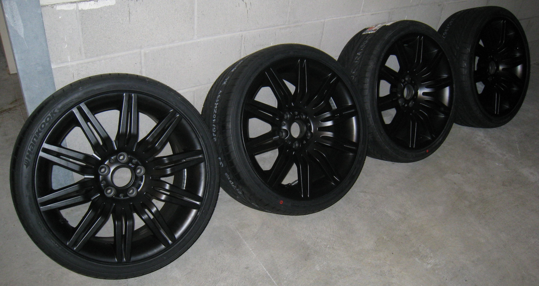 Fs 2008 550i Oem 172 Black Wheels Tires Set Bimmerfest